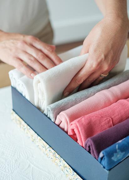 Paula Torres - Tshirts dentro de caixa - Happy Organize