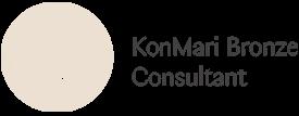 Selo Certificação Bronze Consultant - Método Konmari Tm